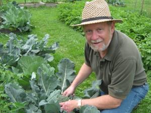 Augie's Gardening Again