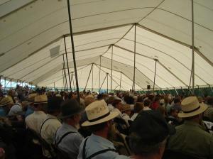 Main tent.